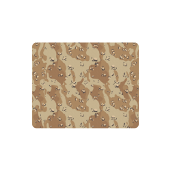 Vintage Desert Brown Camouflage Rectangle Mousepad