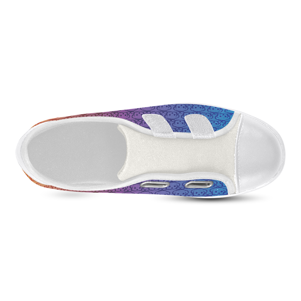 Puppy Love Velcro Canvas Kid's Shoes (Model 008)