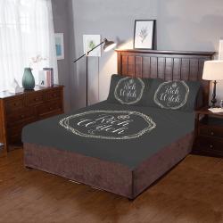 rich witch bedding set 3-Piece Bedding Set