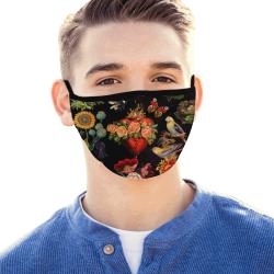 Corazon Black Mouth Mask