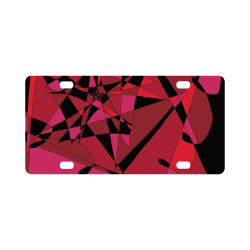 Abstract #8 S 2020 Classic License Plate