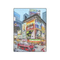 "Times Square III Special Finale Edition Blanket 50""x60"""