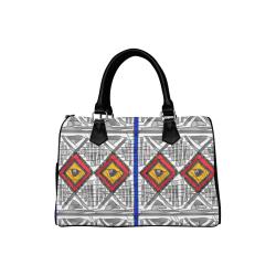 Mixed Center3 Boston Handbag (Model 1621)