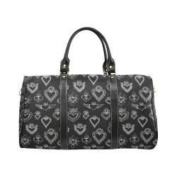 SACRED HEART - EX VOTO - Black New Waterproof Travel Bag/Small (Model 1639)