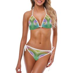 Frax Fractal Rainbow Custom Bikini Swimsuit (Model S01)