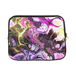 "Colorful Marble Design Custom Laptop Sleeve 13"""