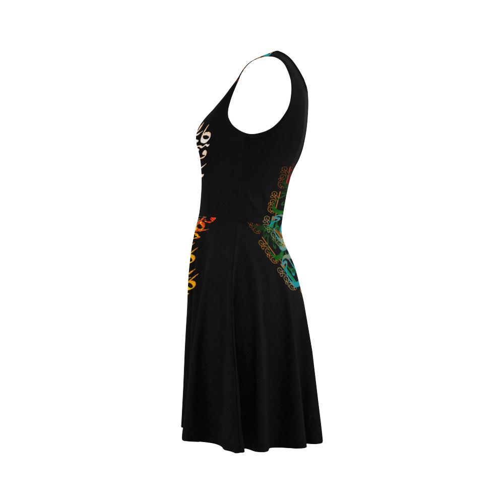 Liam-Black Atalanta Sundress (Model D04)