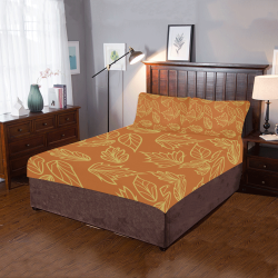 Autumn leaves 3-Piece Bedding Set
