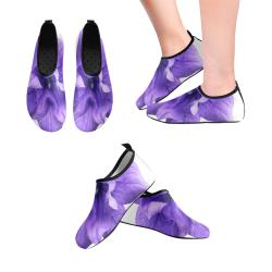 Balloon Flower Women's Slip-On Water Shoes (Model 056)
