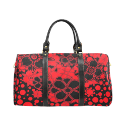 FLORAL DESIGN 46 New Waterproof Travel Bag/Large (Model 1639)