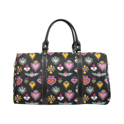 SACRED HEART - EX VOTO - Multicolor New Waterproof Travel Bag/Small (Model 1639)