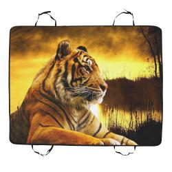 Tiger and Sunset Pet Car Seat 55''x43''