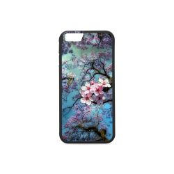 Cherry blossomL Rubber Case for iPhone 6/6s