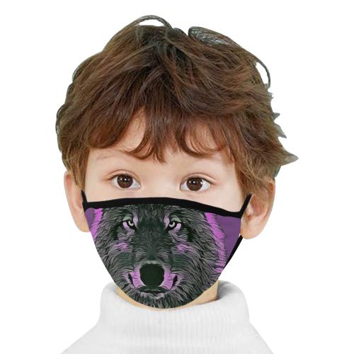 WOLF PINK MASK Mouth Mask