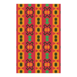 "Tribal shapes in retro colors (2) Poster 23""x36"""