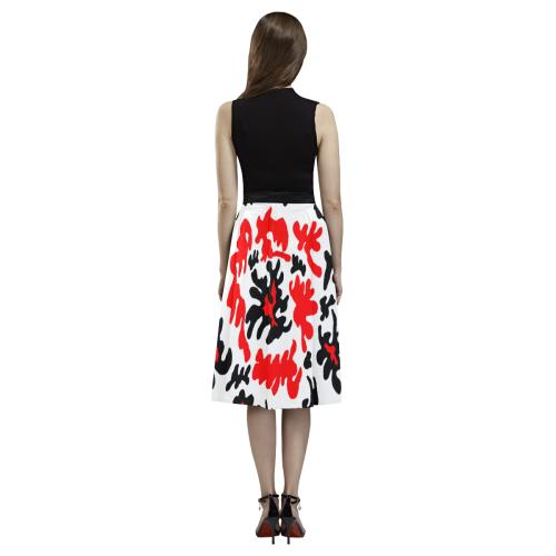 Fire Flower Aoede Crepe Skirt (Model D16)