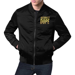Mens Naturally Dope Bomber Jacket All Over Print Bomber Jacket for Men (Model H19)
