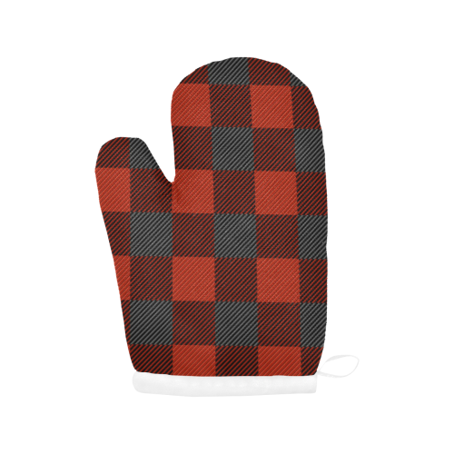Buffalo Print Oven Mitts Oven Mitt (Two Pieces)