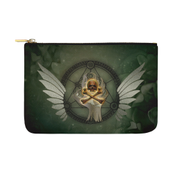 Skull in a hand Carry-All Pouch 12.5''x8.5''