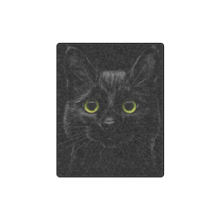 "Black Cat Blanket 40""x50"""