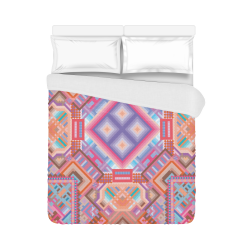 """Researcher Duvet Cover 86""""x70"""" ( All-over-print)"""