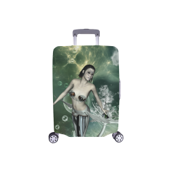 """Awesome mermaid in the deep ocean Luggage Cover/Small 18""""-21"""""""