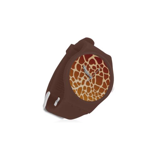Safari Unisex Round Rubber Sport Watch(Model 314)