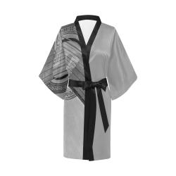 Guitar Face Kimono Robe