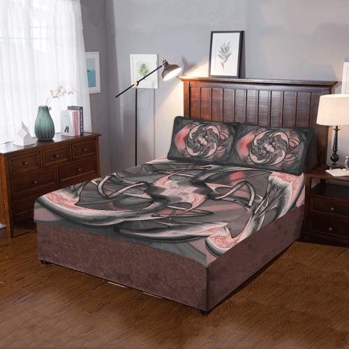 5000xart 1 3-Piece Bedding Set