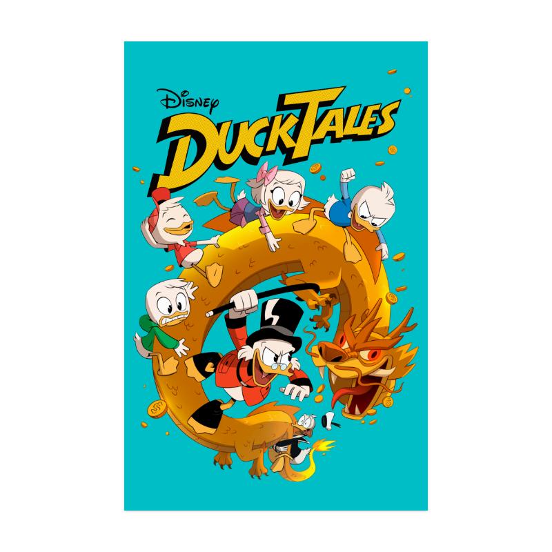 """DuckTales Poster 22""""x34"""""""