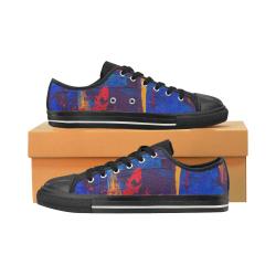 oil_l Men's Classic Canvas Shoes (Model 018)