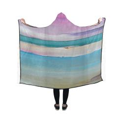 Sunset Beach (M) Hooded Blanket 50''x40''