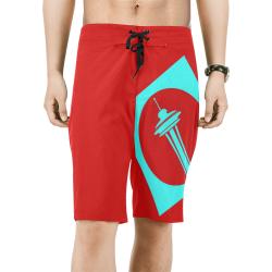 2recorblindbshrts Men's All Over Print Board Shorts (Model L16)