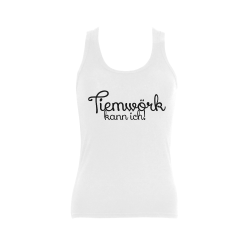 Tiemwörk kann ich Women's Shoulder-Free Tank Top (Model T35)