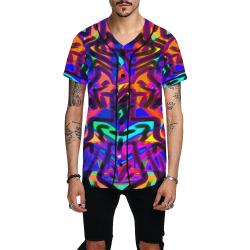 Been Different All Over Print Baseball Jersey for Men (Model T50)