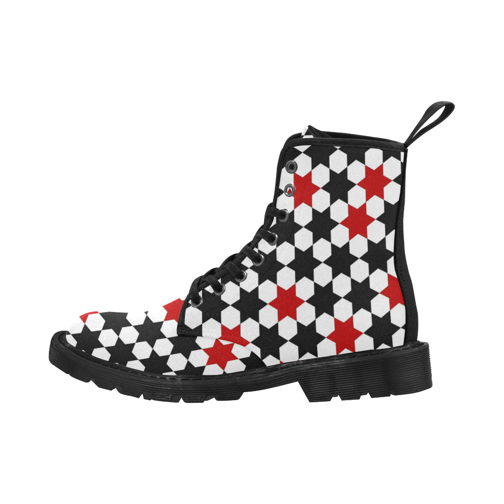 12rb Martin Boots for Men (Black) (Model 1203H)