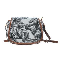 bIBLICAL iLLUSTRATION Saddle Bag/Large (Model 1649)