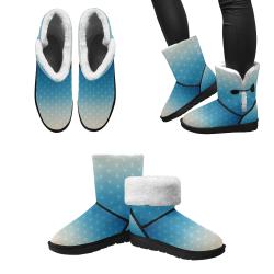 04 WINTER Unisex Single Button Snow Boots (Model 051)
