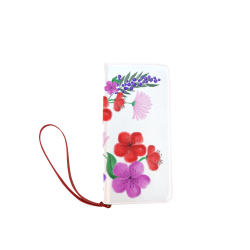 BUNCH OF FLOWERS Women's Clutch Wallet (Model 1637)
