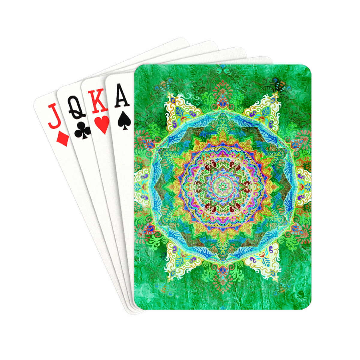 """India 17 Playing Cards 2.5""""x3.5"""""""
