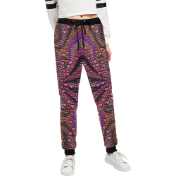hearts everywhere B  by JamColors Women's All Over Print Sweatpants (Model L11)