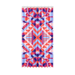 "Modern Geometric Pattern Window Curtain 50"" x 96""(One Piece)"