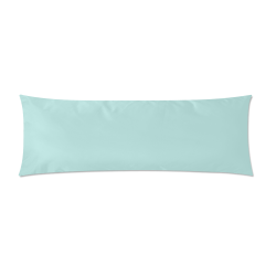 """Bleached Coral Custom Zippered Pillow Case 21""""x60""""(Two Sides)"""