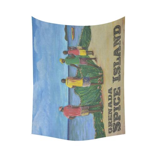 """manusartGND Cotton Linen Wall Tapestry 60""""x 80"""""""