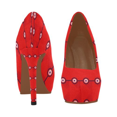 10000 art324 3 Women's High Heels (Model 044)