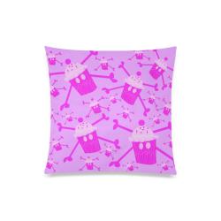 "cupcakelogopillow Custom Zippered Pillow Case 20""x20""(Twin Sides)"