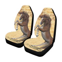 Wonderful brown horse Car Seat Covers (Set of 2)