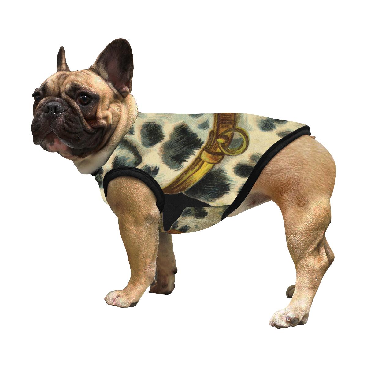 Vitange Dalmatian Tshirt All Over Print Pet Tank Top