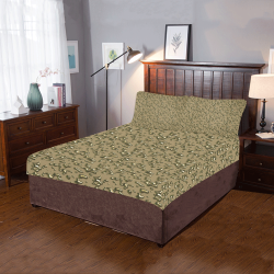 golden drops 3-Piece Bedding Set