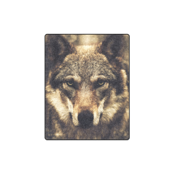 "Wolf 2 Animal Nature Blanket 40""x50"""